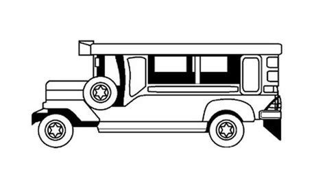 philippines jeepney drawing free coloring page philippine jeepney hints