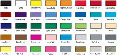 Printing Screen Chart Ink Colors Inks Shirt