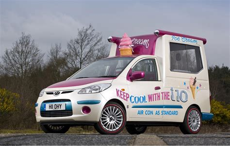 hyundai ice cream van news information