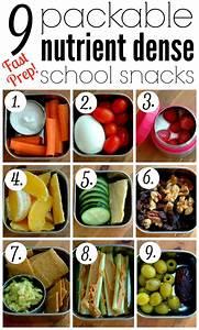9 Packable Nutrient Dense School Snacks | Pinterest ...