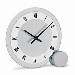 Pendule à Poser : pendule poser moderne cadran verre ~ Teatrodelosmanantiales.com Idées de Décoration