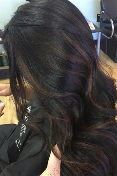 Brown Hair Or Black Hair by How To Add Highlights To Brown Hair At Home Belletag