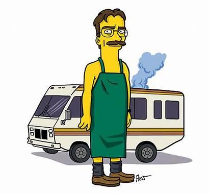 Breaking Bad Walter Jesse Pinkman Simpsonizados Personajes