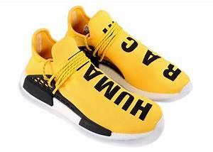 Adidas Pharrell Nmd Human Race Yellow Used Level Up