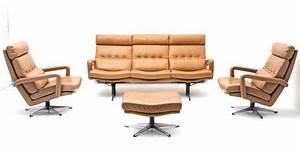 Sofa Sessel Kombination : ledersofa 3er kombination 4189 bogen33 ~ Michelbontemps.com Haus und Dekorationen