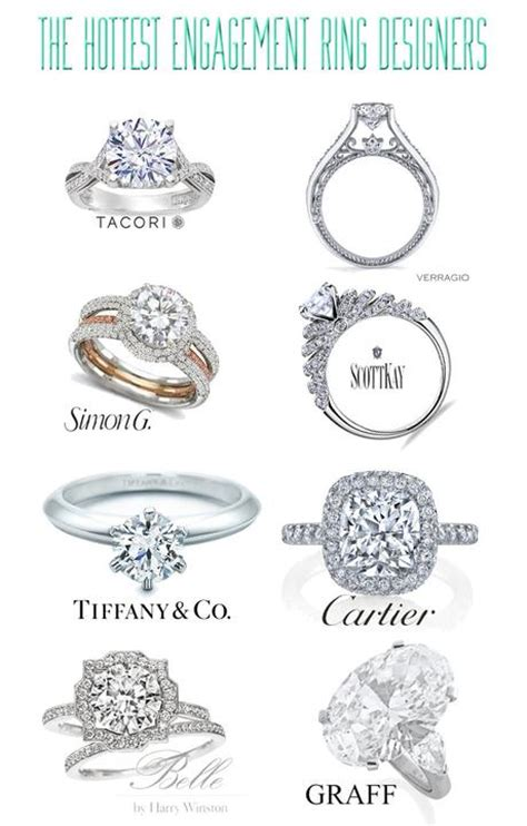 popular engagement ring designers paperblog
