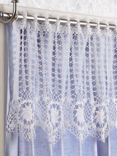 Free Drapery Patterns by Free Crochet Curtain Patterns On Moogly Crochet