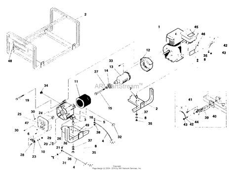 briggs and stratton power products 0451 0 580 326700 2 400 watt craftsman parts diagram for