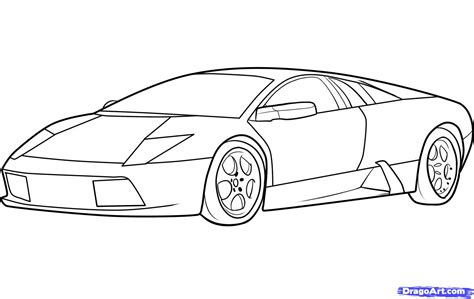 lamborghini sketch how to draw lamborghini drawings l pinterest