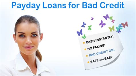 Bad Credit Payday Loans Available Online For Bad Creditors