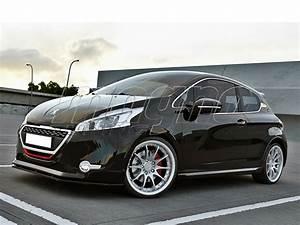 Peugeot 208 Tuning : peugeot 208 gti mx front bumper extension ~ Jslefanu.com Haus und Dekorationen