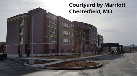 chesterfield courtyard marriott crown window