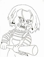 Best Chucky Coloring Pages Ideas And Images On Bing Find What
