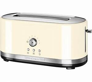 Kitchen Aid Toaster : buy kitchenaid 5kmt4116bac 2 slice toaster cream free delivery currys ~ Yasmunasinghe.com Haus und Dekorationen