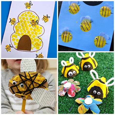 buzzworthy bee crafts for to make crafty morning 315 | bumble bee kids crafts