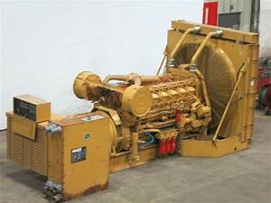 Used Caterpillar 3512 Diesel Generator