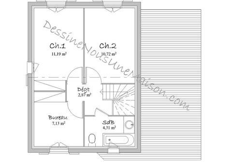 plan maison plain pied 3 chambres gratuit plan de maison traditionnelle gratuit plan maison plain