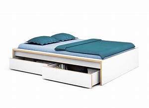 Bett 120x200 Guenstig : betten 120x200 ikea mit zwei schubladen und ohne kopfteil ~ Frokenaadalensverden.com Haus und Dekorationen