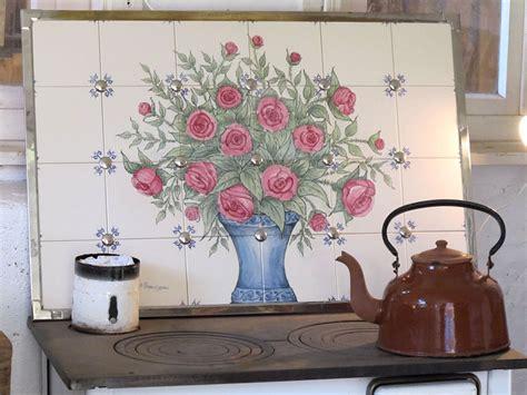 Fliesenspiegel Motiv by Fliesenmalerei Annelie Somborn