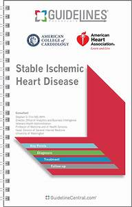 Acc  Aha Stable Ischemic Heart Disease Guidelines Pocket