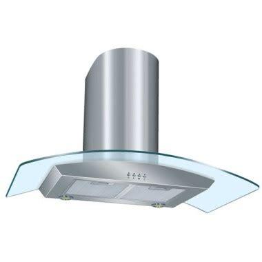 hotte de cuisine 90 cm dmo hotte décorative de cuisine en verre cintré 90 cm