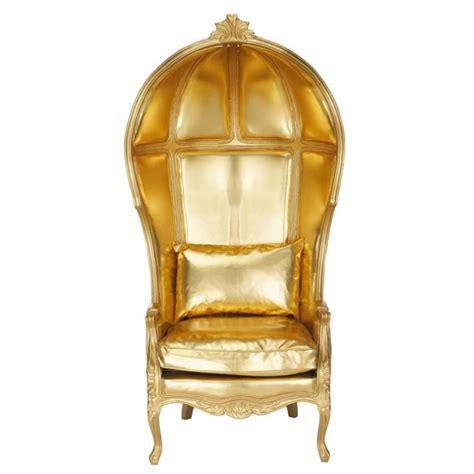 fauteuil or carrosse maisons du monde