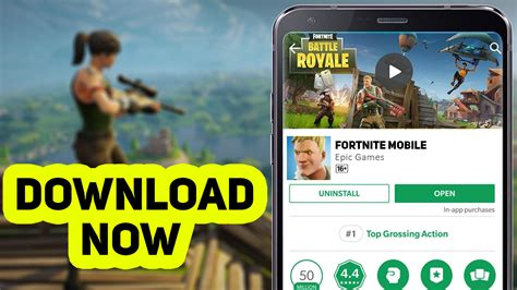 install fortnite mobile  android
