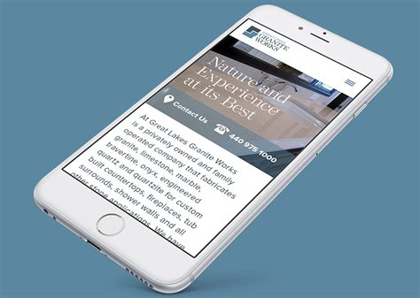 great lakes granite works website design development