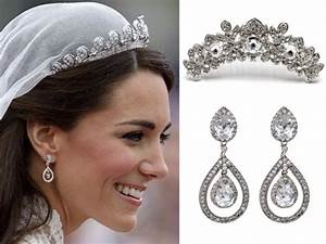 bridal dresses art deco wedding jewelry vintage chic With earrings for wedding dress