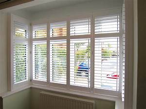 Bay, Window, Plantation, Shutters, Fitted, In, New, Forest