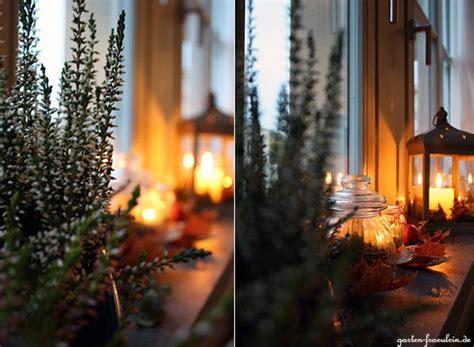 Herbst Winterdeko Fensterbank by Herbst Auf Der Fensterbank Garten Fr 228 Ulein Der Garten
