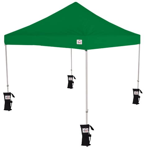 ez pop  canopy tent instant canopy tent  weight bags kelly green ebay