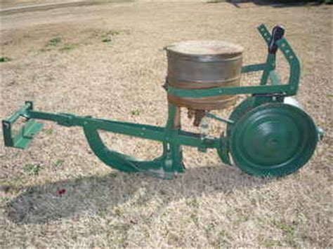 Used Farm Tractors For Sale 1 Row Cole Planter (200901