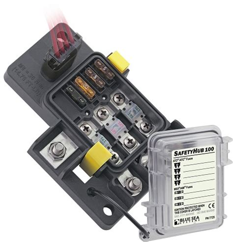 Ford Racing Fuse Box by Blue Sea Systems 7725 Fuse Block Safety Hub 100