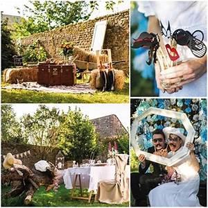 Décoration Mariage Champêtre Chic : 5 th mes de mariage pour 2016 id es et inspirations ~ Melissatoandfro.com Idées de Décoration