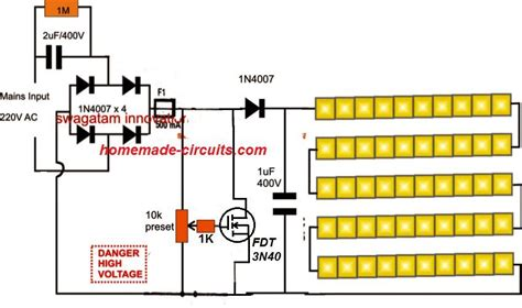 Smd Led Driver Tube Light Circuit Homemade