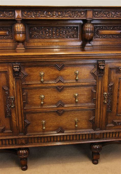 Oak Dressers And Sideboards by Antique Oak Sideboard Dresser C 1910 10685 La60238