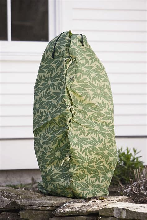 shrub covers shrub jacket winter protection