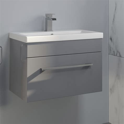 600mm wall hung vanity unit 600mm bathroom wall hung vanity unit basin storage cabinet