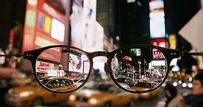 York Square Glasses Times Through Amazing Animated