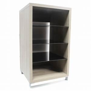 meuble chaine hifi meuble tv design bois maisonjoffrois With meuble tv chaine hifi