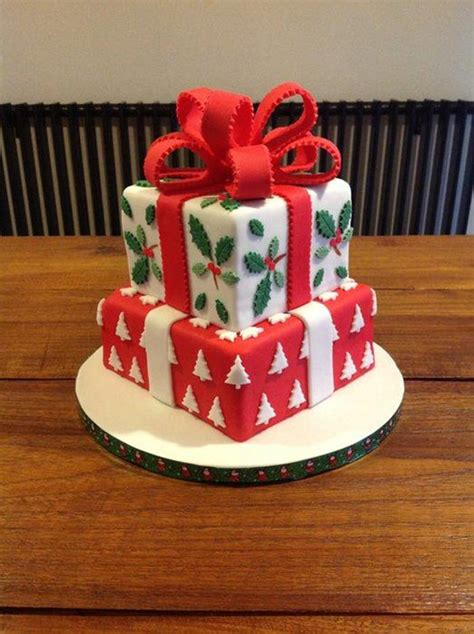 creative christmas cakes  cool  eat hongkiat