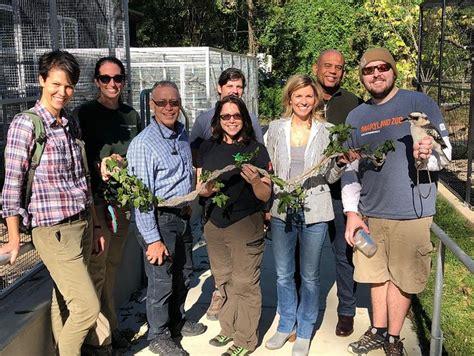 usda animals zoo forest employees service landfills partnership sustainability diverts waste helps success maryland