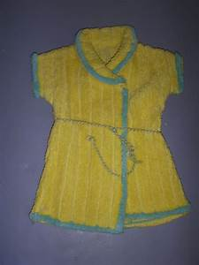 vintage chenille robe for baby doll from kathysdolls on With robe baby doll