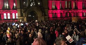 LIVE updates: Protesters gather in Manchester to show ...