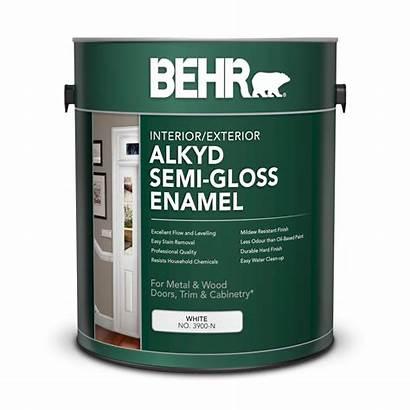 Behr Alkyd Gloss Semi Paint Enamel Oil