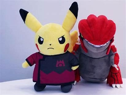 Rocket Team Pikachu Rainbow Pokemon Plushies Center