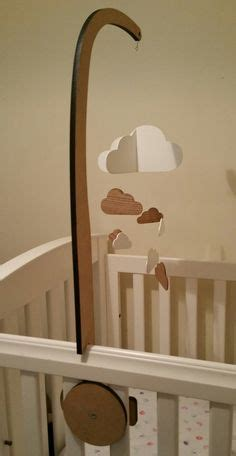 crib mobile arm 10 baby crib mobile holder white wooden mobile arm