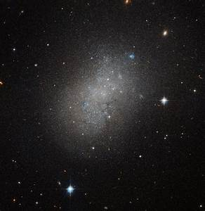 Hubble spots an irregular island in a sea of space