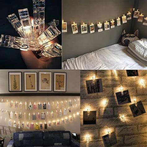 photo clip led string lights  deal shop